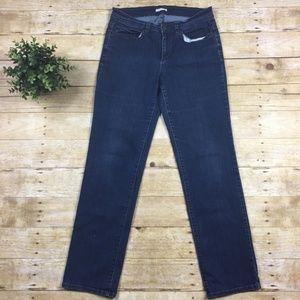 Eileen Fisher Stretchy Straight Leg Jean